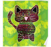 knitty kat Poster