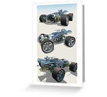 The Geiger Recumbent Roadster Greeting Card