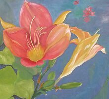 Day Lilies by Thi Nguyen