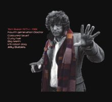 Tom Baker Greatest Doctor Ever by Steve E