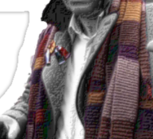 Tom Baker Greatest Doctor Ever Sticker