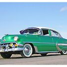 1954 Chevy green by Duck-Flower