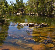 Gunlom Falls Kakadu by mawaho