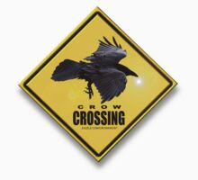 crow crossing by redboy