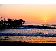 Imperial Beach Sunset Photographic Print
