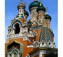 Gorgeous Russian church Photographic Print