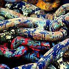 OFF THE CHAIN (Jackson Pollock) by artist4peace