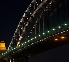 """Southern Arch .. Sydney Harbour Bridge"" by Darren Gray"