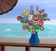seaside bouquet  by WhiteDove Studio kj gordon