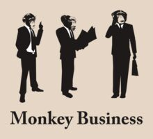 Monkey Business by srmoska