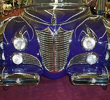 1948 Purple Cadillac by Diane Trummer Sullivan