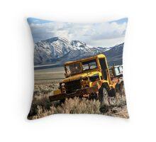 Quarry Truck Throw Pillow