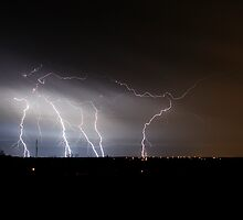 Eastside Lightning by Dennis Jones - CameraView