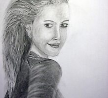 drew barrymore by artyratty