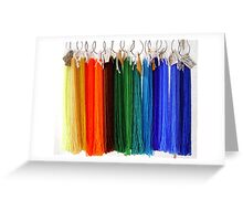 Beads - Rainbow Greeting Card