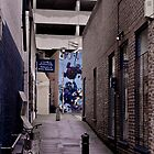 Side street in Brighton by SpencerCopping