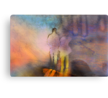 A Walk With Perception Metal Print
