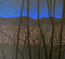 Night Lights by sally seabright
