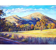 Autumn at Trawool Photographic Print