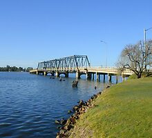 Bridge from Mulwala to Yarrawonga by David Hunt