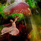 Dancing Under a Mushroom by Rachel Linder