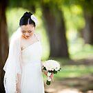 The wedding bride by Hien Nguyen