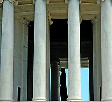 Jefferson Memorial by Renee Hubbard Fine Art Photography