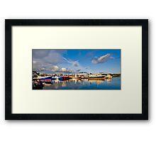 Killybegs Harbour Framed Print