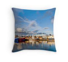 Killybegs Harbour Throw Pillow