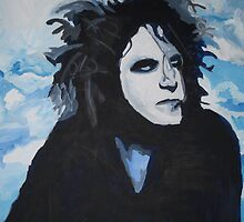 Robert Smith from The Cure by Ryan Harvey