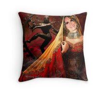 the maharani Throw Pillow