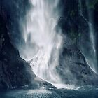 Bowen Falls, New Zealand by Karin Elizabeth