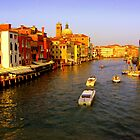 What a Grand Canal...!! by HelmD
