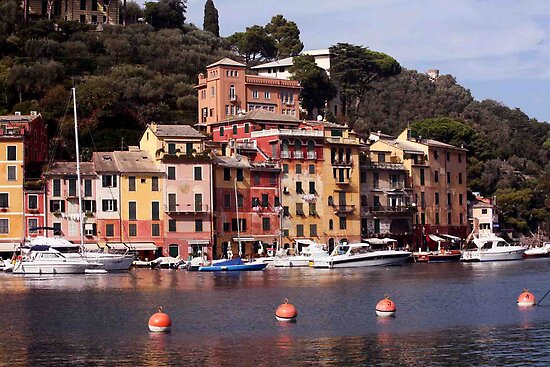 Italian Riviera  by phil decocco