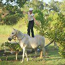 Horsegal by Auntymazza