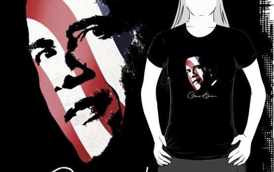 Obama Pop Art Shirt by JayBakkerArt
