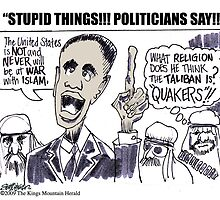 Stupid Things, Politicians Say! by Seth  Weaver