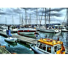 Poole Harbour Photographic Print