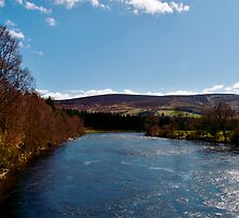 The River Dee by Larissa  White Edwards