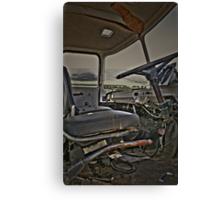 Driven to Destruction Canvas Print
