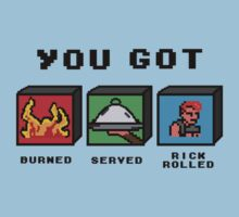 You got served, burned and...really?! by Dan Ives