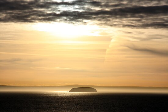 Steep Holm by Paul O'Neill