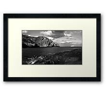 Visitor from the North Framed Print