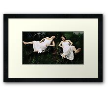 faint heart never won fair maiden Framed Print