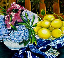 "Still LIfe - Oil Painting by Belinda ""BillyLee"" NYE (Printmaker)"