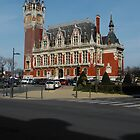 Town Hall Calais, France by David A. Everitt (aka silverstrummer)