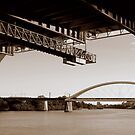 Brisbane River Bridges by Lachlan Kent