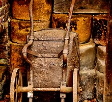 Old wheelbarrow by Karen  Betts