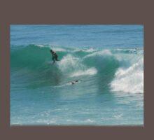 Surfing Burleigh Style #2 by Virginia McGowan