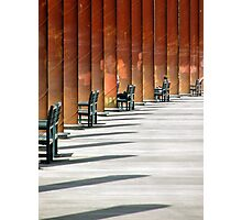 All In A Row Photographic Print
